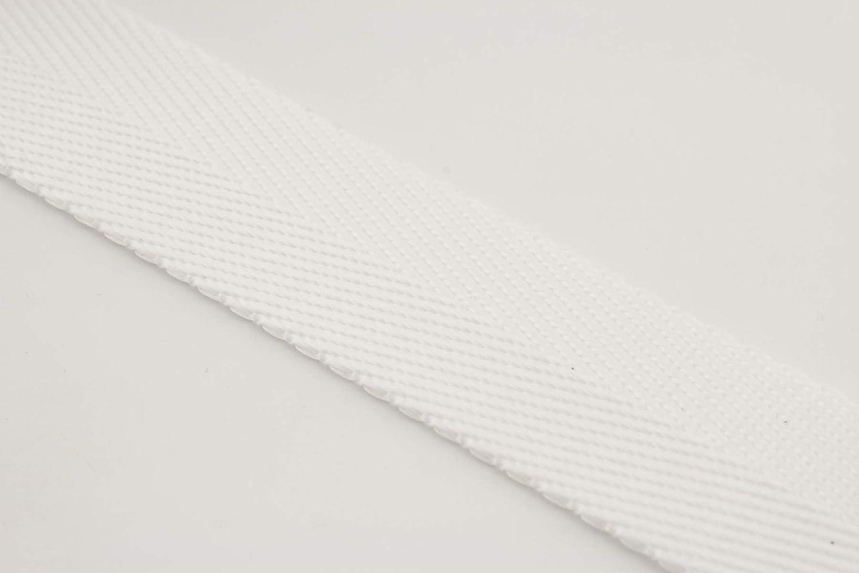 Purse Making heavy weight Nylon strap webbing 5 yards White ZD83 ...