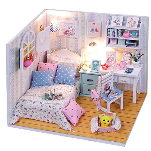 [와이즈 판매] 인형 집 수제 키트 DIY 미니 아다베루 방 초급 [Adabelle 's Room]