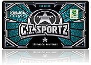 GI Sportz 1-Star Paintballs (White Fill)