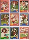Kansas City Chiefs 1989 Score Football Team Set (Christain Okoye) (Deron Cherry) (Nick Lowery)