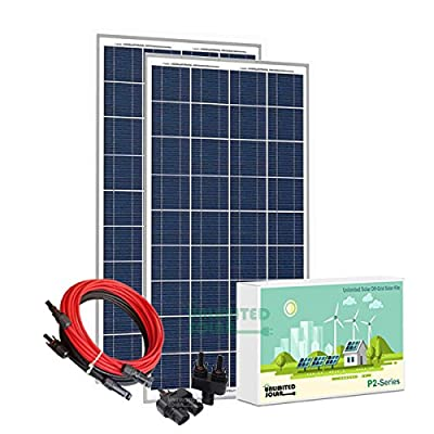 Unlimited Solar P2 Series 320 Watt 12 Volt Off-Grid Solar Panel Kit