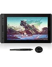 Huion Pro 16 Tableta Monitor de 15.6 Pulgadas con Pantalla y Monitor de gráficos de Pantalla de Niveles de 8192 Niveles