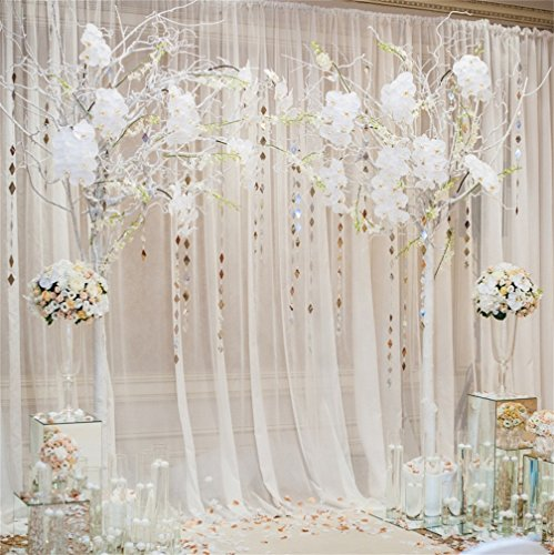 CSFOTO 10x10ft Background for Wedding Engaged Ceremony Decor Photography Backdrop Dreamy Romantic Artistic Love Sweet Gride Groom Celebrate Blessing Party Photo Studio Props Vinyl -