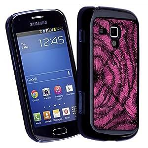 Accesorio Carcasa Funda–Funda original para Samsung Galaxy Trend Straw Pink