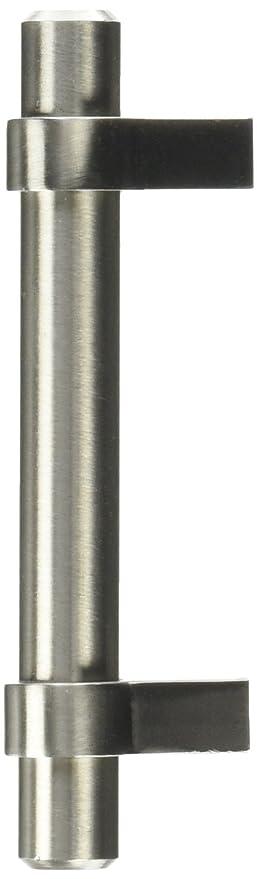 Cosmas 161 3SN Satin Nickel Contemporary Bar Cabinet Handle Pull   3u0026quot;  Hole Centers