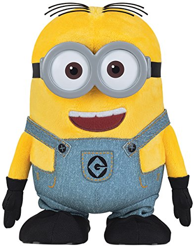 Despicable Me Walk & Talk Minion Dave Toy Figure]()