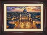 Thomas Kinkade - Vatican Sunset 18'' x 27'' Standard Number (S/N) Limited Edition Canvas (Brandy)