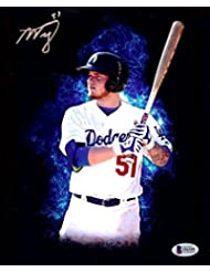 Alex Verdugo Signed Autographed 8X10 Photo Los Angeles Dodgers Prospect Beckett
