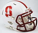 STANFORD CARDINAL NCAA Riddell Revolution SPEED Mini Football Helmet (CHROME LOGO)