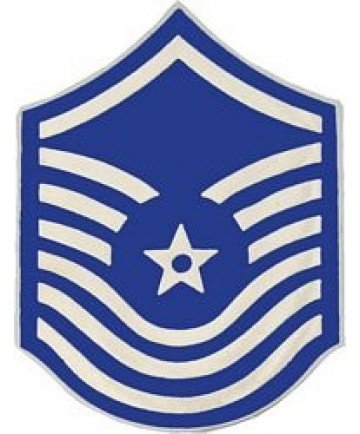 US Air Force E-8 Senior Master Sergeant Lapel Pin