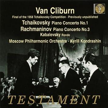 Van Cliburn: Rachmaninov - Piano Concerto No 3; Tchaikovsky - Piano Concerto No 1 (2009-01-13)