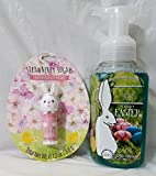 jelly bean body wash - Bath and Body Works Happy Easter Cotton Candy Gentle Foaming Hand Soap 8.75 Oz and Strawberry Sugar Scented Lip Balm 0.13 Oz.