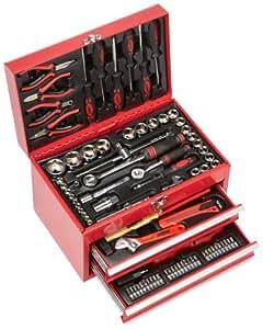 Mannesmann - M29066 - Caja de herramientas equipada con 155 piezas