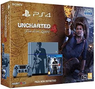 Sony PS4 1TB + Uncharted 4 Limited Edition Multicolor 1000 GB Wifi - Videoconsolas (PlayStation 4, Multicolor, 8196 MB, GDDR5, AMD Radeon, Unidad de disco duro): Amazon.es: Videojuegos