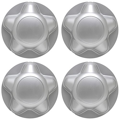 Center Caps for Select Ford Lincoln Trucks Van SUV Silver (Set of 4) 16 and 17 inch Wheel Cover