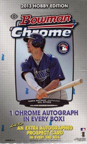 2013 Bowman Chrome Baseball Hobby Box