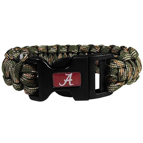 (NCAA Alabama Crimson Tide Camo Survivor Bracelet, Green)