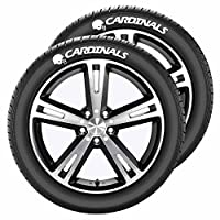 NFL Arizona Cardinals Tire Tatz, One Size, One Color