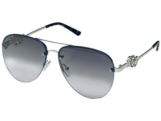 Guess GF6054-5910C Gafas de sol, Azul, 58 para Mujer: Amazon ...
