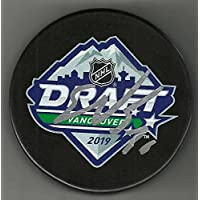 $76 » Spencer Knight Signed Team USA 2019 Draft Puck Florida Panthers - College Autographed Miscellaneous Items