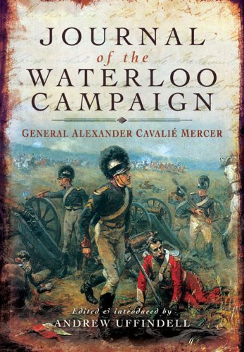 Book cover for Journal of the Waterloo Campaign