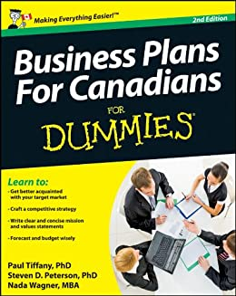 Business Plans For Canadians For Dummies Ebook