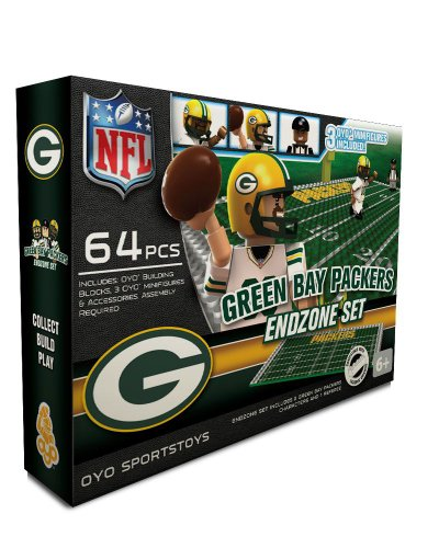 NFL Green Bay Packers Endzone Toy Set