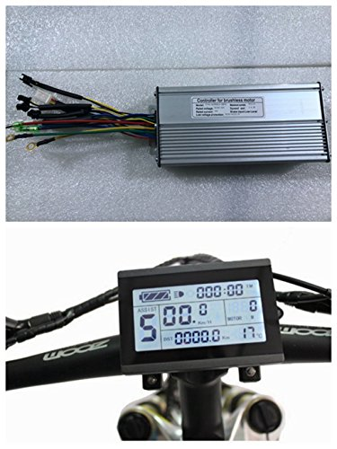 NBPower 36V/48V 1500W 40A Brushless DC Motor Controller Ebike Controller +KT-LCD3 Display One Set,Used for 1500W-2000W Ebike Kit. by NBPower