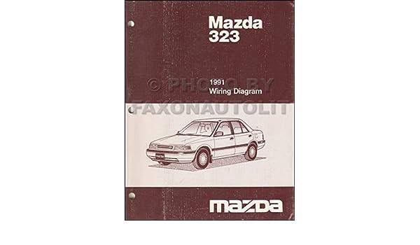 1991 Mazda 323 And Protege Wiring Diagram Manual Original Rhamazon: 1991 Mazda Protege 323 Wiring Diagram At Gmaili.net