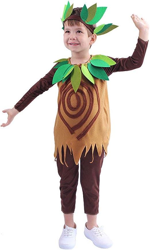 QYS Accesorio de Disfraz de árbol Lindo para niños Traje de árbol ...