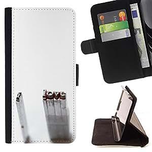 Kingstore / - De pie Amor Inscripción I - Samsung Galaxy Note 3 III