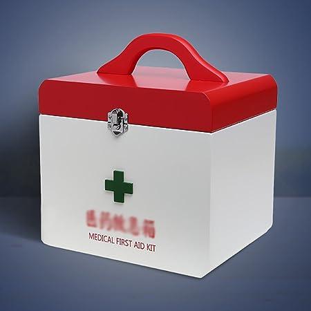YLLYPX Caja de medicinas Hogar Botiquín de Madera Broche de Metal ...
