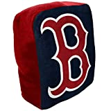 Northwest MLB Boston Red Sox Cloud Logo Pillow, One Size, Multicolor