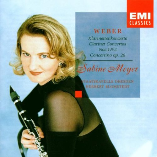 UPC 077774735124, Weber: Clarinet Concertos Nos 1 & 2, Op 73 & 74 / Concertino for Clarinet Op 26