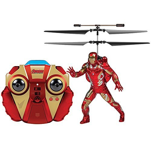 Marvel Avengers Age Of Ultron Iron Man Remote Controlled R/C Helicopter