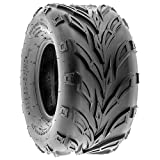 SunF A004 ATV UTV Off-Road Tire 19x9.5-8, 6 PR, Track & Trail, Tubeless