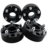 """GDSMOTU 4pc Hub-Centric Wheel Spacers for Jeep 5 Lug, 2"""" Wheel Spacers 5x4.5 with 1/2"""" Studs for 1984-2001 Cherokee,2002-2012 Liberty,1987-2006 Wrangler YJ TJ"""