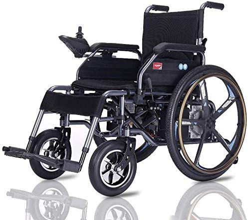 GJHW Silla DE Ruedas ELÉCTRICA Power Chair - para Personas Mayores y discapacitadas