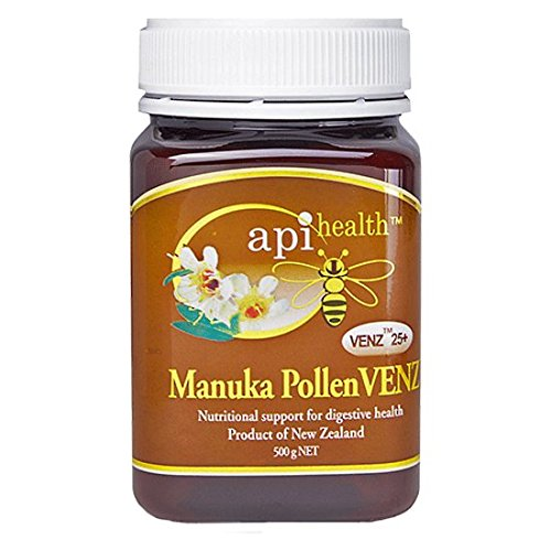 - Manuka Pollen VENZ - Honey with Bee Venom and Pollen - 1.1lb (500g) Jar