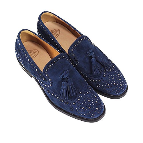 Blue Moccasin Summer Met Shoes Spring Church's Suede 2018 Tamaryn Women's ZxawSaCq6f