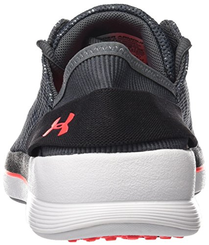 Under Armour Womens Rotation Rhino Grey / Nero / Marathon Red