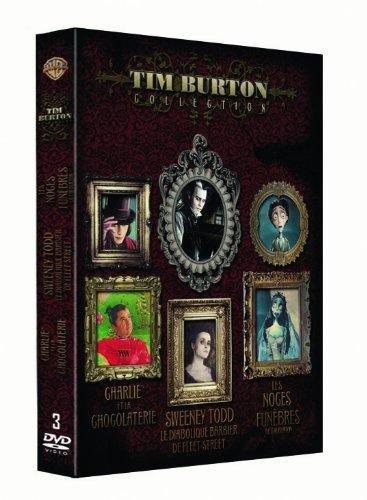 Tim Burton Collection - Coffret - Sweeney Todd + Charlie et la chocolaterie + Les noces funèbres Francia DVD: Amazon.es: Johnny Depp, Helena Bonham Carter, Alan Rickman, Timothy Spall, Sacha Baron Cohen,