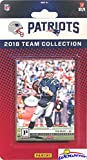 #7: New England Patriots 2018 Panini NFL Football Factory Sealed Limited Edition 14 Card Complete Team Set TOM BRADY, Rob Gronkowski, Sony Michel RC, James Harrison & Many More! WOWZZER!