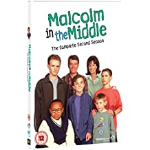 Malcolm in the Middle: The Complete Second Season REGION 2 PAL