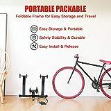 Walmann Bike Trainer Stand Portable Indoor