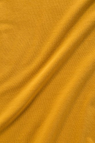 GINA_LAURA Damen   T-Shirt   einfarbig, runder Ausschnitt, lockerer Fall   bis Größe XXL   safran M 199917 60-M