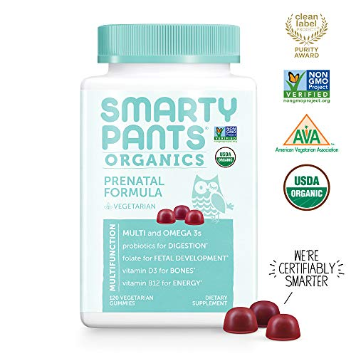SmartyPants Organic Vegetarian Prenatal Vitamins