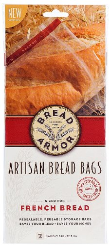 Bread Armor 16604 Armor French Bread Bags, 2-Pack