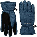 Columbia Women's Mighty Lite Gloves, Blue Heron, Large