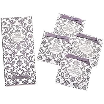 Amazing English Lavender Scented Sachets   Set Of 4 Large Gift Boxed Sachets For  Drawers And Closets